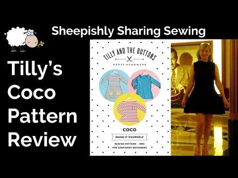 Sew & Tell | Tilly\'s Coco Dress Pattern Hack | Sheepishly Sewing #6 ...