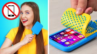 HOW TO SNEAK YOUR PHONE INTO SCHOOL || Funny Situations by 123 GO! SCHOOL