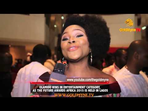 OLAMIDE WINS IN ENTERTAINMENT CATEGORY AT THE FUTURE AWARDS 2015