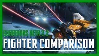 Elite: Dangerous - Fighter Comparison