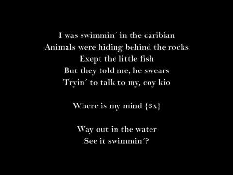 The Pixies - Where Is My Mind {lyrics}