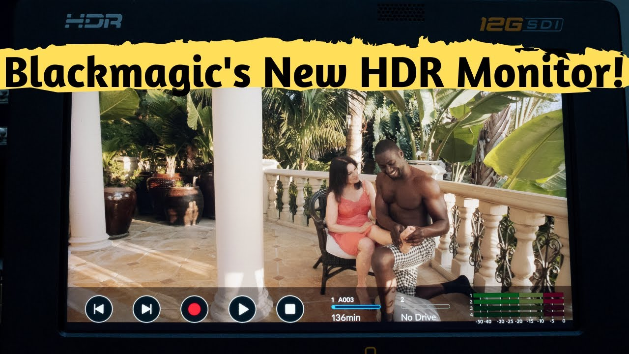 Blackmagic Video Assist 5 12g Hdr Monitor Recorder And Professional Scopes Walk Through Review Youtube