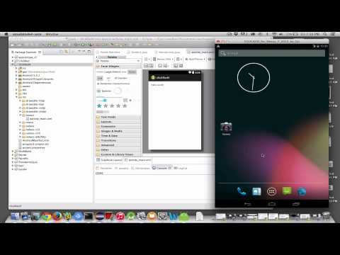 Build Hello World In Eclipse With ADT