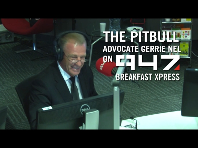 Gerrie Nel gets grilled by the 947 Breakfast Xpress team #1