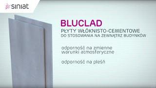 Konstrukcyjna płyta cementowo-włóknista Bluclad od Siniat