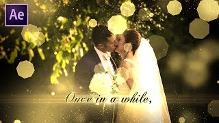 Wedding Slideshow in After Effects | After Effects Tutorial | Effect For You