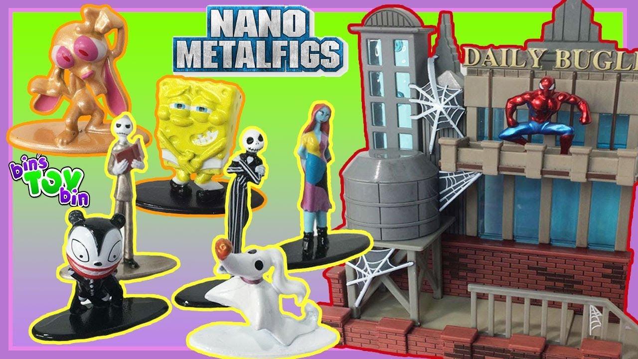 Nickelodeon Nano Metalfigs By Jada