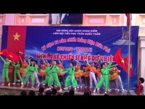 Liên hoan Chiến sĩ nhỏ Điện Biên - TH Trần Quốc Toản