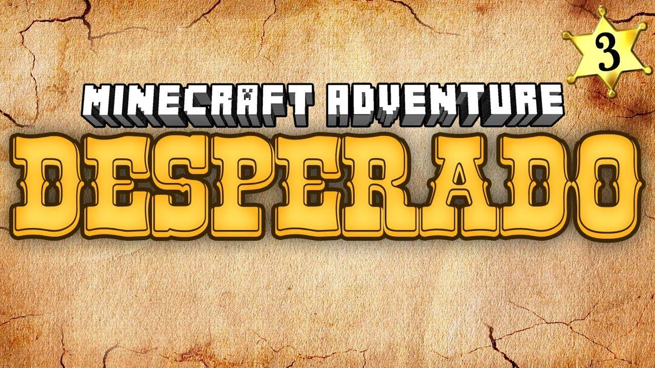 Minecraft Adventures Desperado Bull Rider YouTube - Minecraft desperado hauser