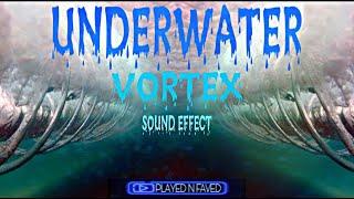Underwater Vortex Sound Effect / Ocean Wave Vortex Noise / Under Water Vortex Sounds / Royalty Free