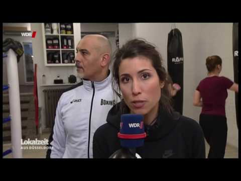 WDR Fernsehen bei Rafik-Sports: Frauenboxen in Düsseldorf