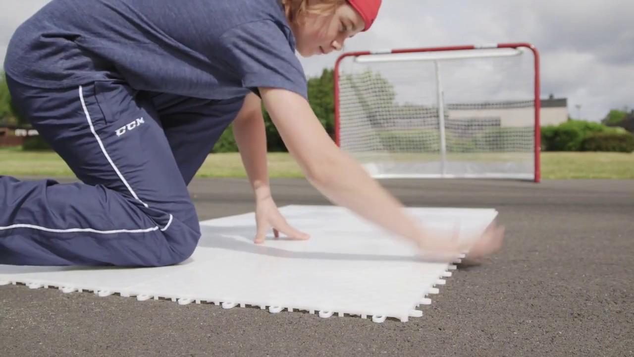 Extreme flooring tiles better hockey youtube extreme flooring tiles better hockey dailygadgetfo Images