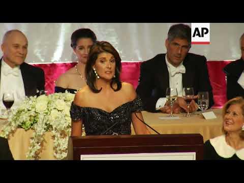 Nikki Haley gets laughs at NY charity gala