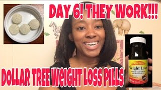 THEY WORK!!! DOLLAR TREE- Nature's Measure Weight Loss Pills Day 6 - Update | LifeAsBrittany