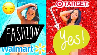 TARGET VS WALMART SWIMSUIT HAUL  *insane results*