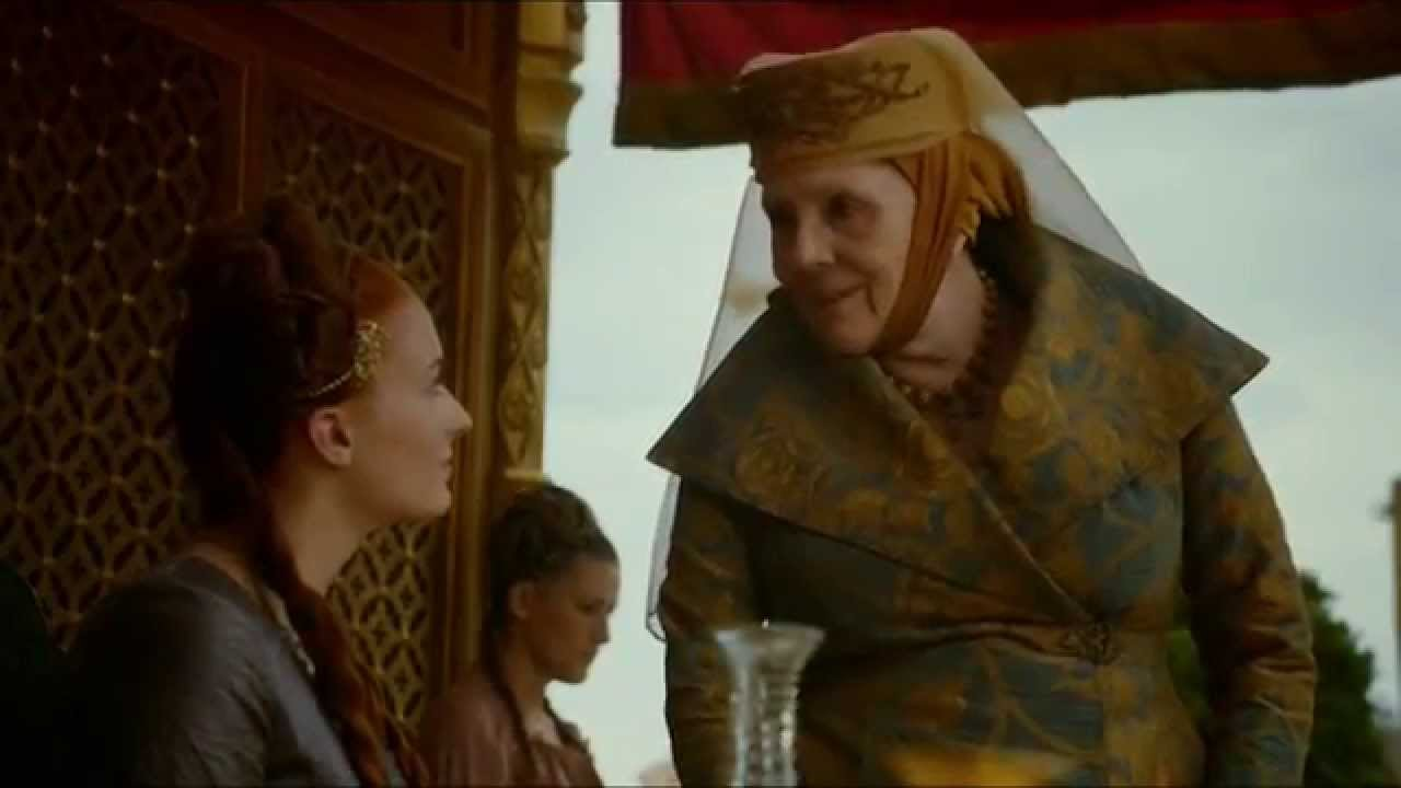 S4E2 Game Of Thrones Joffrey And Margaery Gets Married Purple Wedding Part 1 4