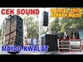Download CEK SOUND NEW BERKAH MULYO SOUND MANUAL TECH