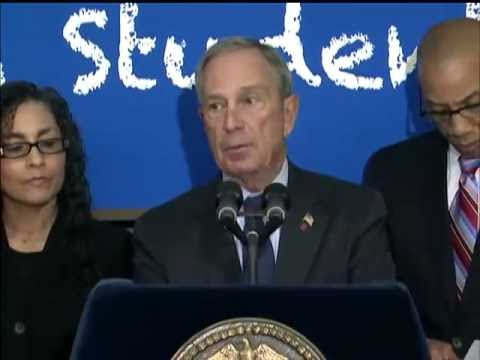 Mayor Bloomberg Announces Record Number of High School Graduates in 2011