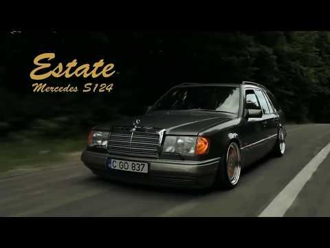 Mercedes Benz W124/S124 E-class   Stanced Estate