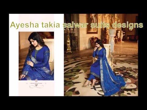 Ayesha takia salwar suits designs 2018 from SHAURYASTORE