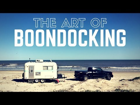 The Art of Boondocking & Free Camping ✌🚐 RV Living & Van Lif