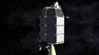 NASA Ames LADEE Mission - Lunar Orbital Insertion Animation