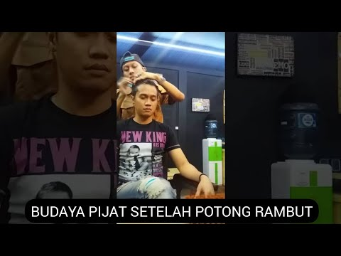 Fajar Gomez ,haircut with Luky nanda saputra