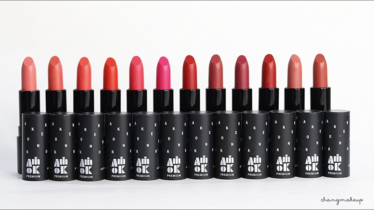 Kết quả hình ảnh cho Amok Strongfix Lipstick