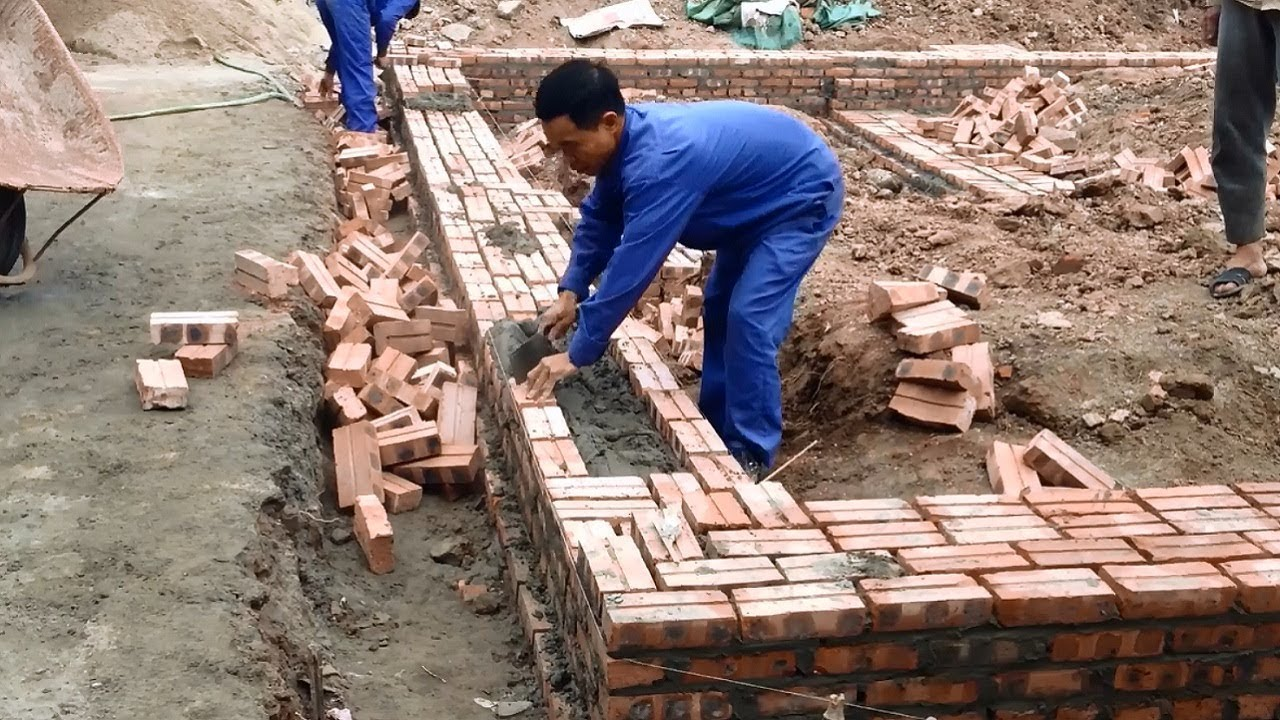 House Construction How To Building A Brick
