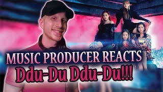 Music Producer Reacts to BLACKPINK - DDU-DU DDU-DU (FIRST TIME HEARING BLACKPINK!!!)