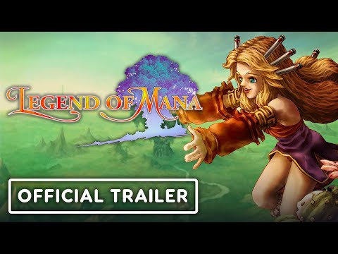 Legend of Mana Remaster - Release Date Trailer | Nintendo Direct