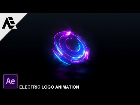 """After Effects Tutorial: Electric Logo Animation in After Effects """"SABER Plugin"""""""