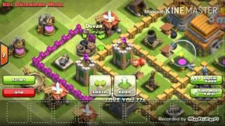 Clash of clans. 6.seviye kb düzeni M U T I S ganim