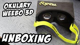 Unboxing okularów VR – Weebo 3D