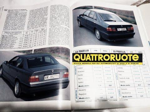 05/1991: LANCIA DEDRA 2.0 I.e Vs. BMW 318i (QUATTRORUOTE, Prova Su Strada)