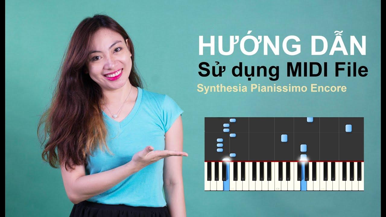 HƯỚNG DẪN SỬ DỤNG MIDI FILE (Đọc File MIDI & Tạo File MIDI) | Bội Ngọc Piano