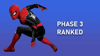 Marvel Cinematic Universe Phase 3 Films Ranked from Worst to Best - Marvel Rewind