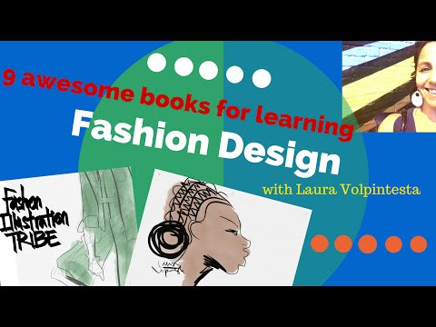 Learn Fashion Design- 9 Recommended Awesome Books!!!
