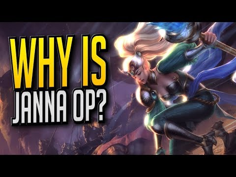 WHY IS JANNA OP?