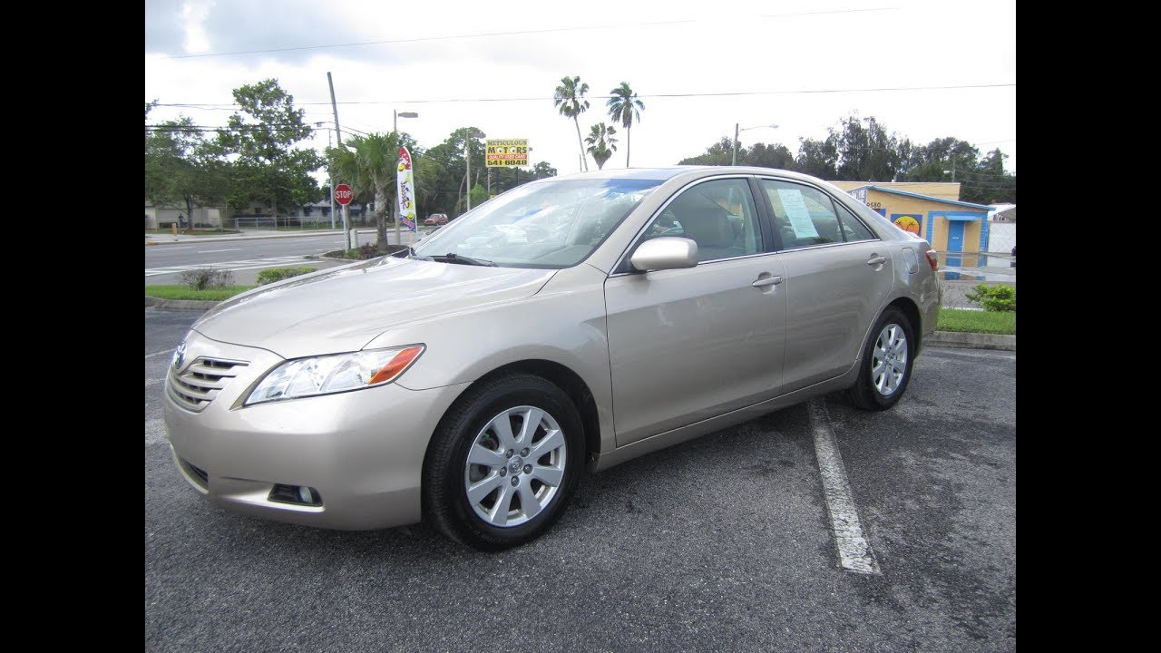 SOLD 2007 Toyota Camry XLE One Owner Meticulous Motors Inc Florida For Sale