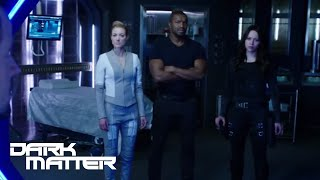 DARK MATTER (clips) | 'Space It' from Episode 209 | SYFY