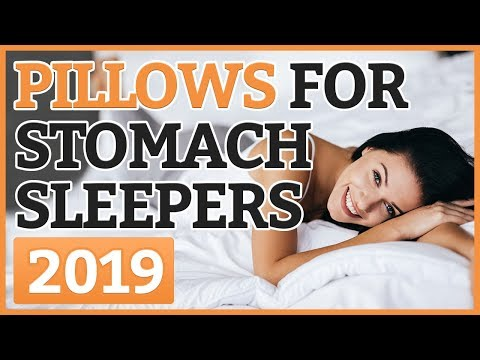 Best Pillow For Stomach Sleeper 2018 | TOP 7 Stomach Sleeper Pillows