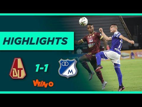 Tolima vs. Millonarios (Goles y Highlights) | Liga BetPlay Dimayor 2021-1 Final-Ida