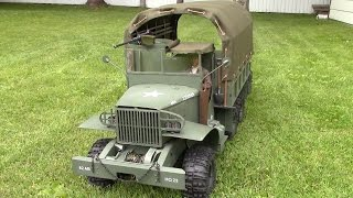 vuclip RC 1/6 scale GMC CCKW 2-1/2 Ton WWII TRUCK (Deuce)