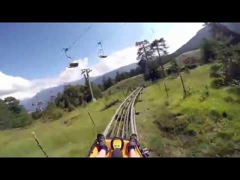 Längste Sommerrodelbahn Der Welt - Alpine Coaster Imst