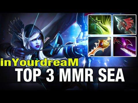 TOP 3 MMR inYourdreaM 8.6K MMR Plays Drow Ranger - Dota 2