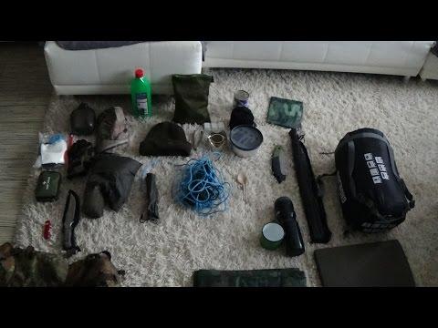 Bushcraft Ausrüstung für eine Übernachtung im Wald | Outdoor | Trekking | Survivalkit | EDC