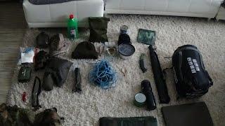 Bushcraft Ausrüstung für eine Übernachtung im Wald | Outdoor | Trekking