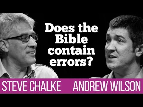 Does The Bible Contain Errors? Steve Chalke Vs Andrew Wilson Debate #1