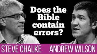 Does the Bible contain errors? Steve Chalke vs Andrew Wilson debate #1